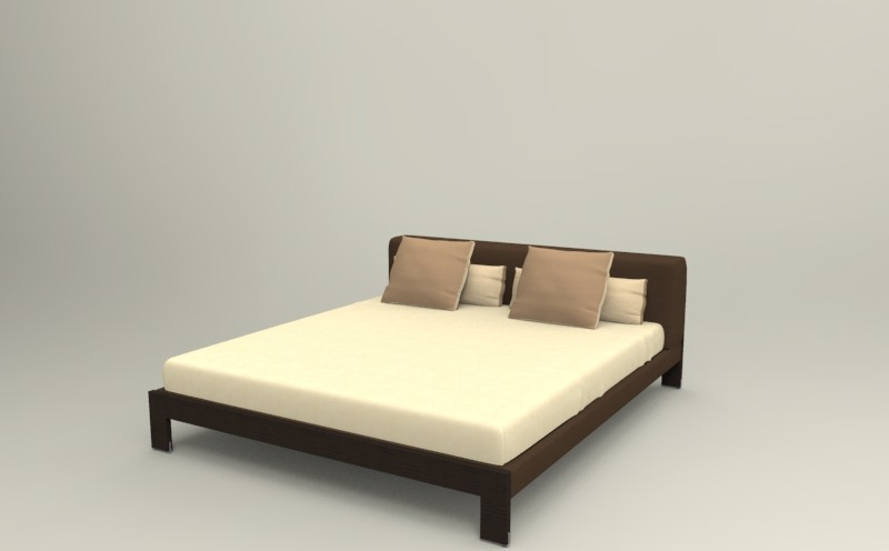 кровать camerich BROOKS_BED3