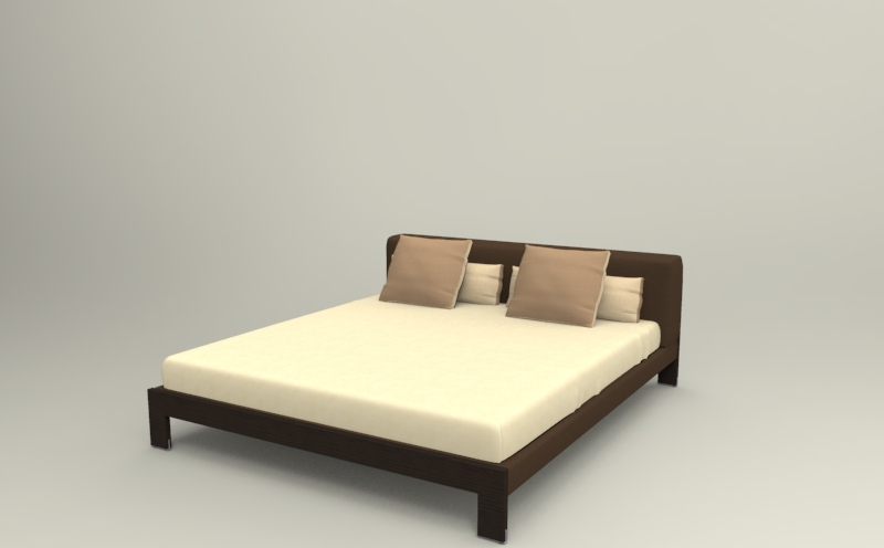 внешний вид современной дизайнерской кровати BROOKS_BED3 Camerich фото