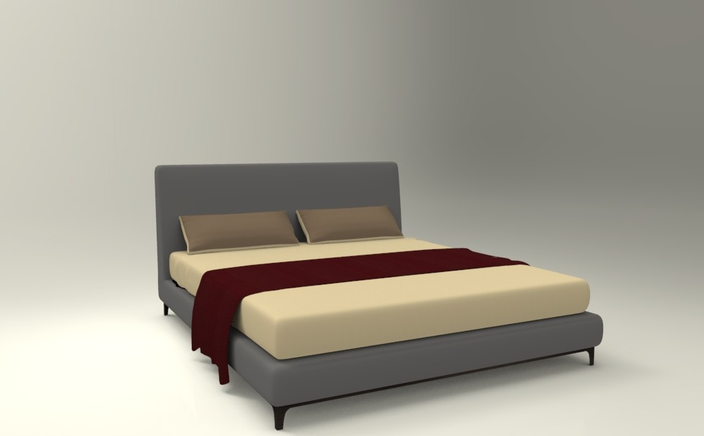 кровать camerich CRESCENT_BED4